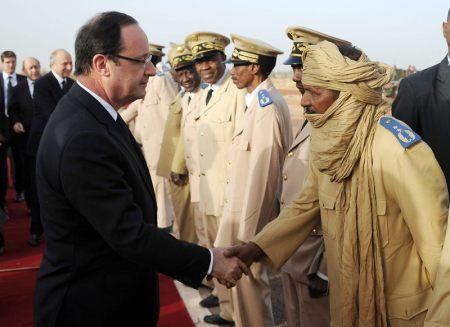 Hollande en Mali