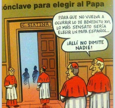 Acudit Capella Sixtina