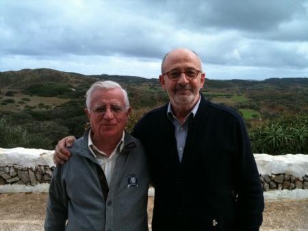 Amb Tomàs Alcoverro. Mongofra novembre 2012